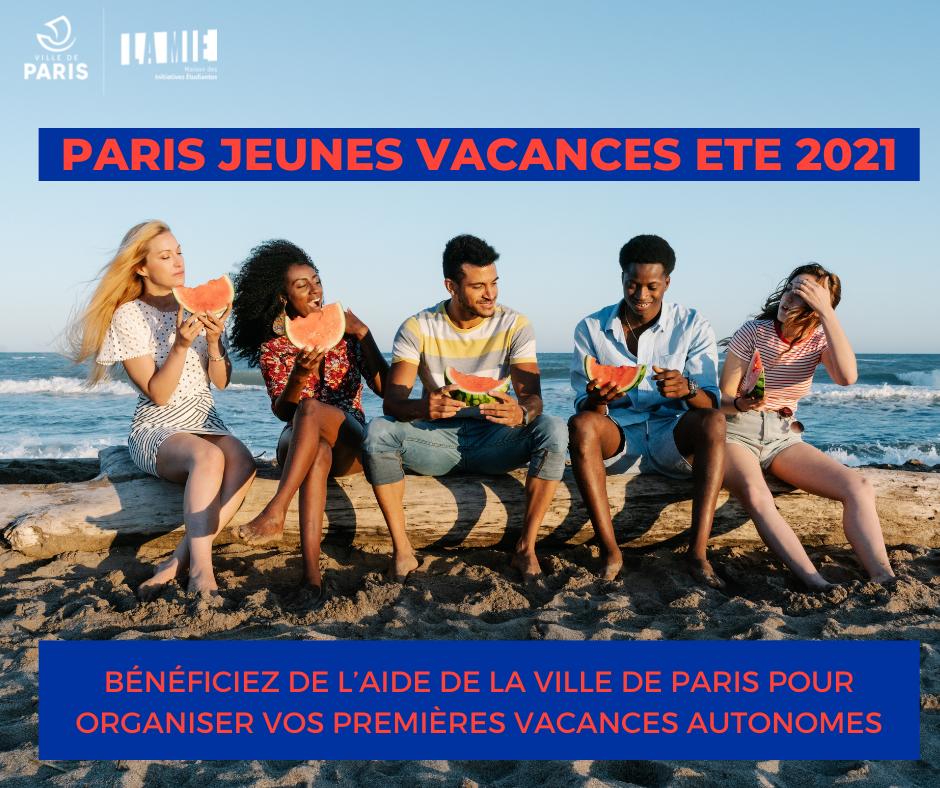 Paris jeunes vacances