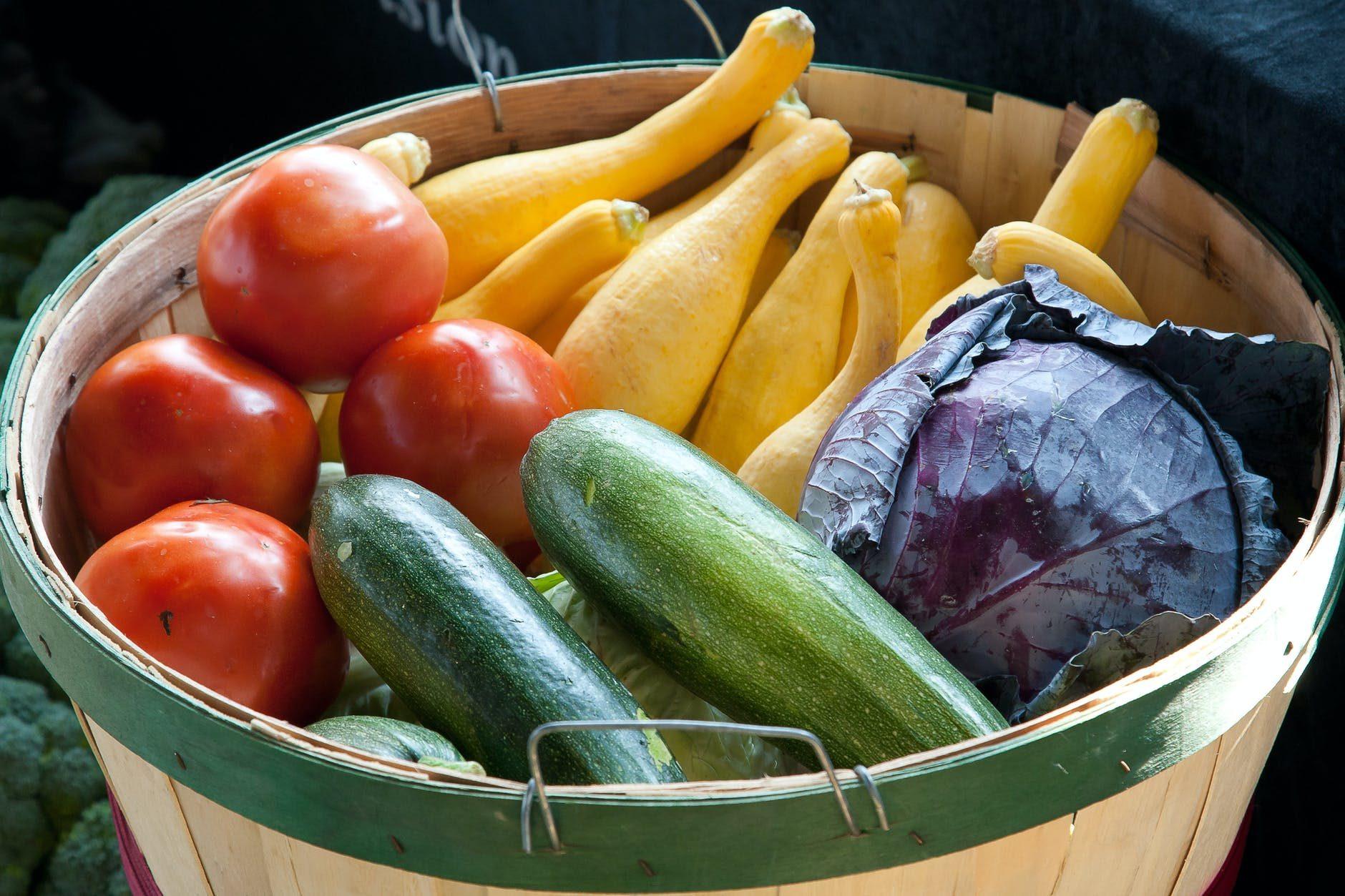 légumes pour les étudiants