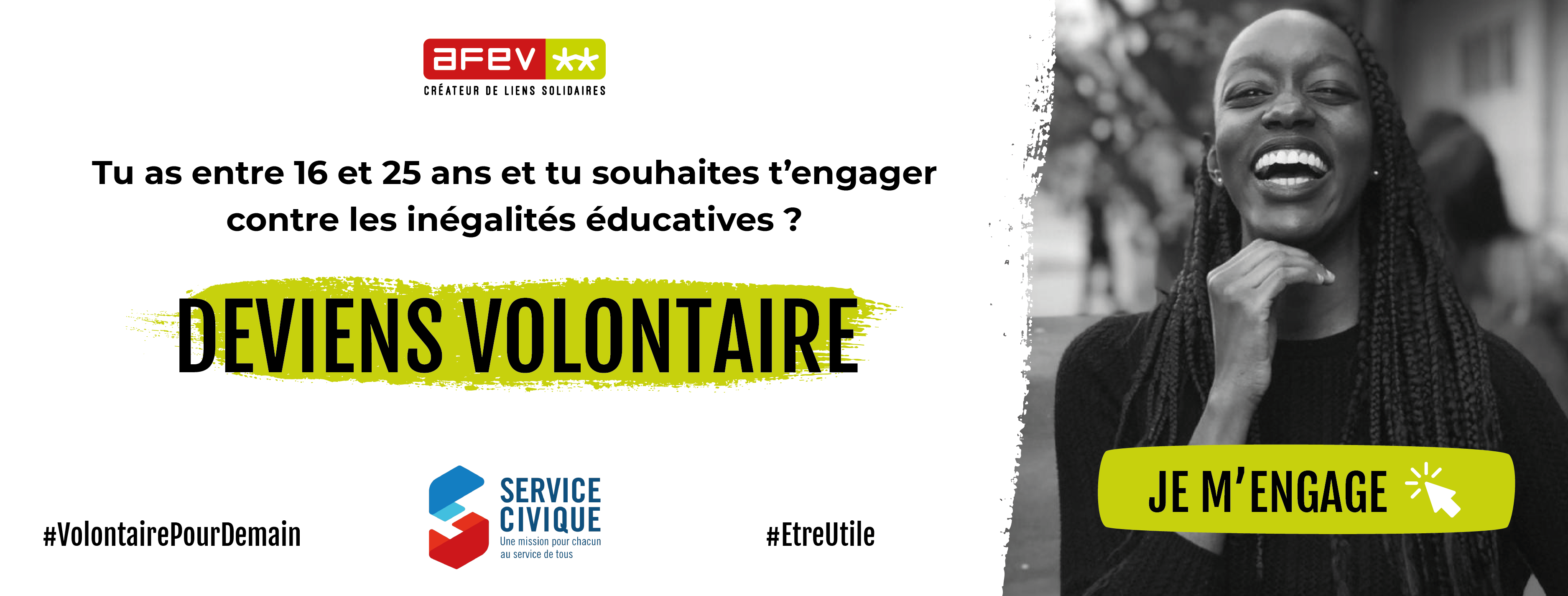 Service civique AFEV Paris