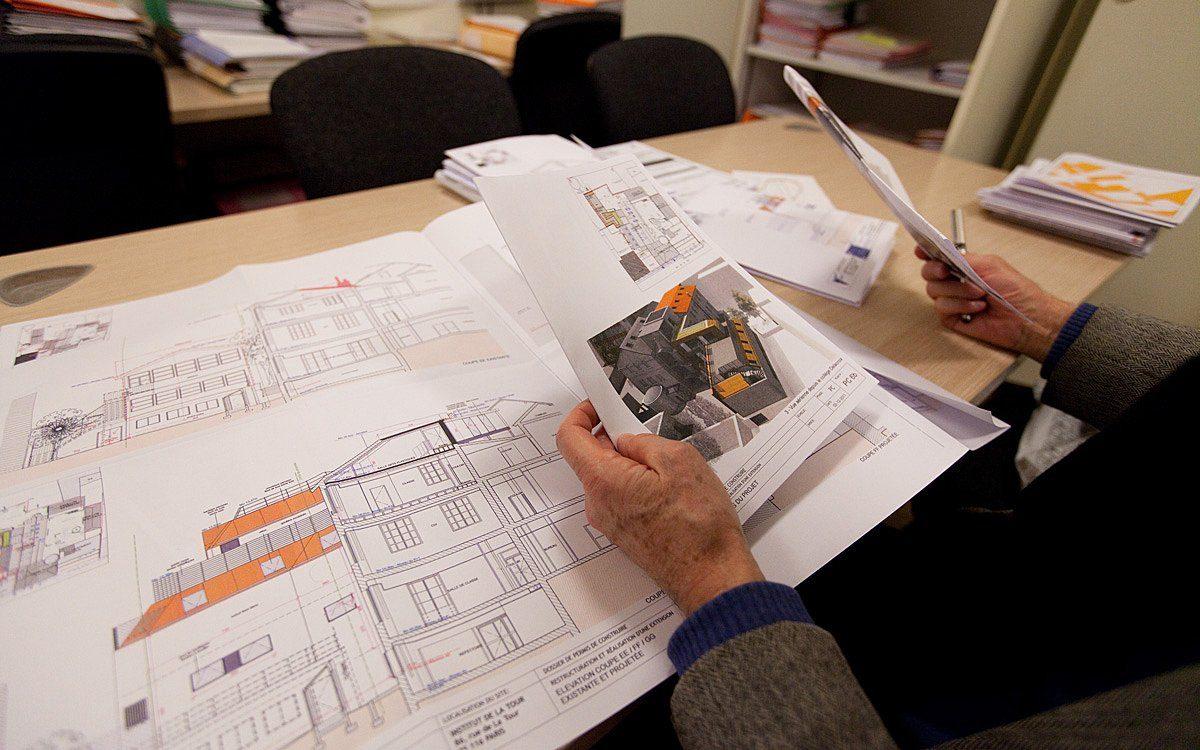 technicien·nes en construction et bâtiment